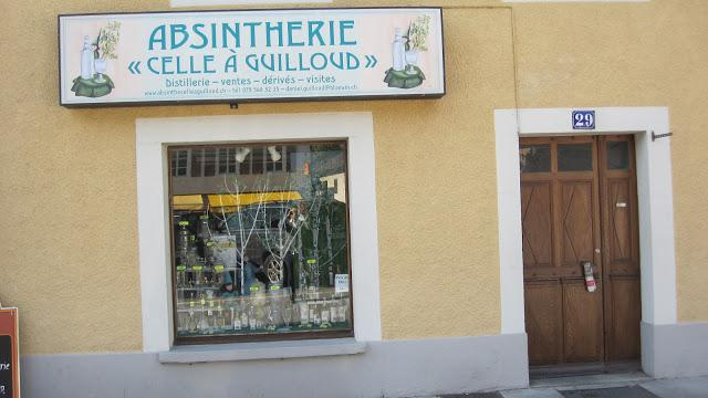 Absinthe celle à Guilloud